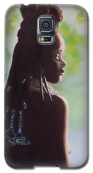 Galaxy S5 Case featuring the painting Spring In Africa by Annemeet Hasidi- van der Leij