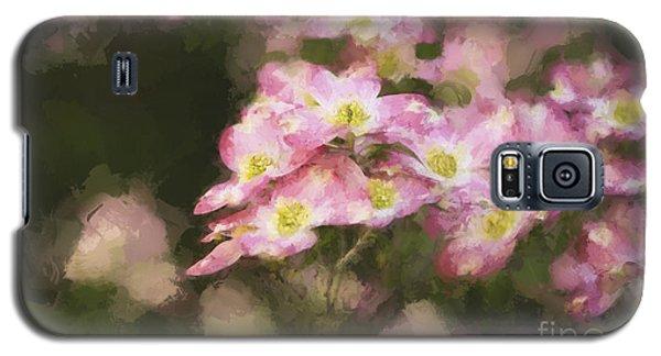 Spring In Pink Galaxy S5 Case by Linda Blair