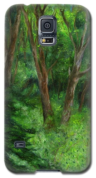 Spring In The Forest Galaxy S5 Case