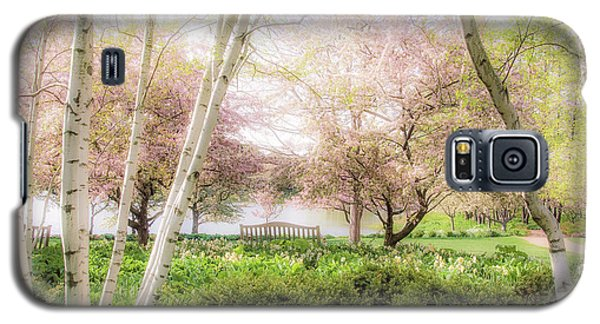 Galaxy S5 Case featuring the photograph Spring In The Garden by Julie Palencia