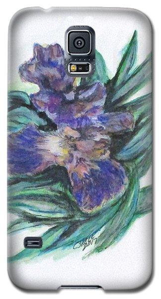 Spring Iris Bloom Galaxy S5 Case
