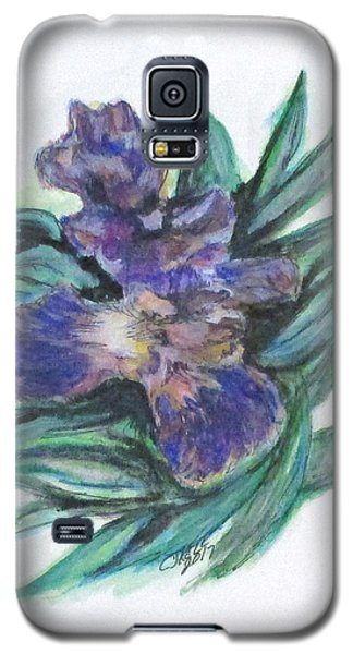 Spring Iris Bloom Galaxy S5 Case