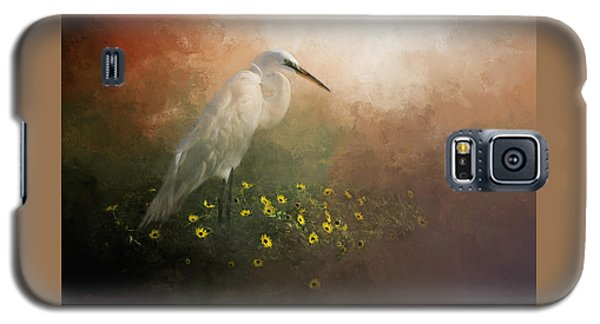 Egret Galaxy S5 Case - Spring Is Here by Marvin Spates