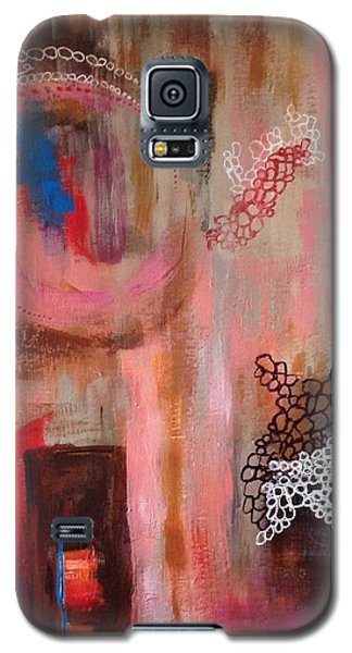 Galaxy S5 Case featuring the painting Squiggles And Wiggles # 4 by Suzzanna Frank