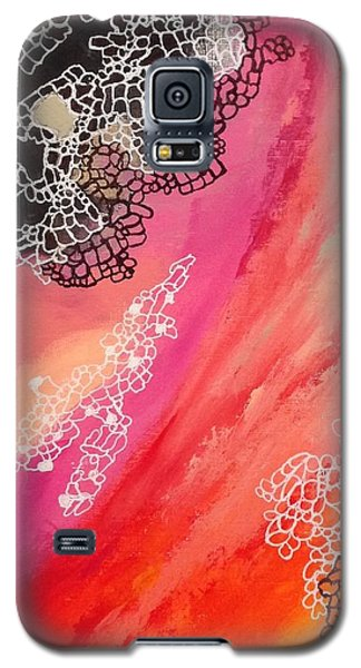 Squiggles And Wiggles #2 Galaxy S5 Case by Suzzanna Frank