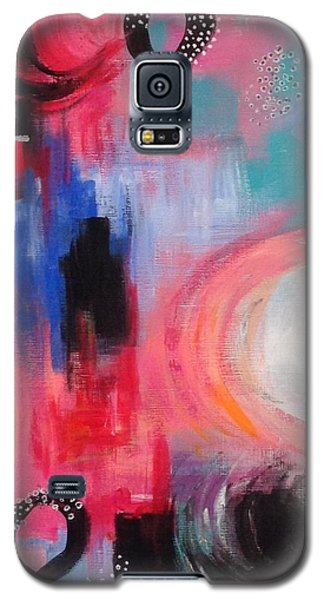 Squiggles And Wiggles #3 Galaxy S5 Case by Suzzanna Frank