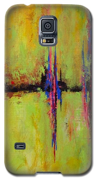 Galaxy S5 Case featuring the painting Spring Is In The Air #4 by Suzzanna Frank