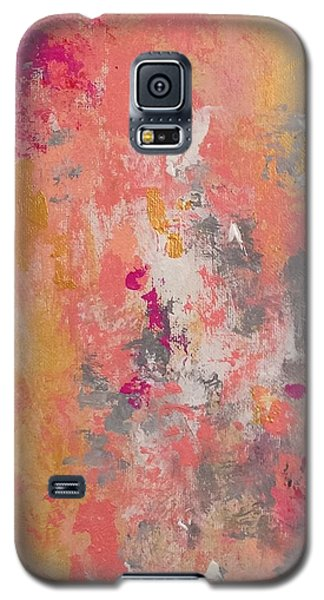 Galaxy S5 Case featuring the painting Welcome Spring by Suzzanna Frank