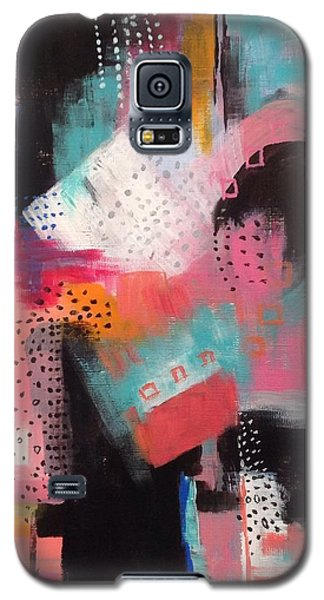 Galaxy S5 Case featuring the painting Squiggles And Wiggles  #7 by Suzzanna Frank
