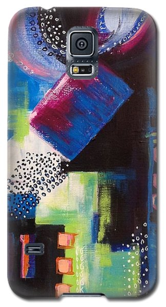 Squiggles And Wiggles #6 Galaxy S5 Case by Suzzanna Frank
