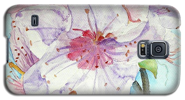 Galaxy S5 Case featuring the painting Spring by Jasna Dragun