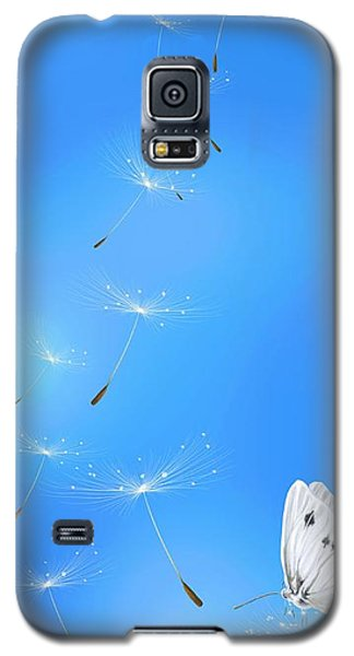 Galaxy S5 Case featuring the painting Spring Lightness by Veronica Minozzi
