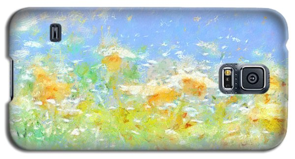 Spring Meadow Abstract Galaxy S5 Case