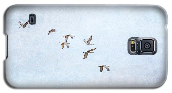 Spring Migration - Textured Galaxy S5 Case
