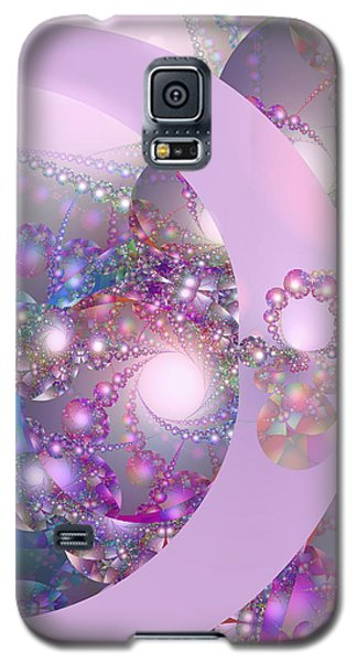 Spring Moon Bubble Fractal Galaxy S5 Case