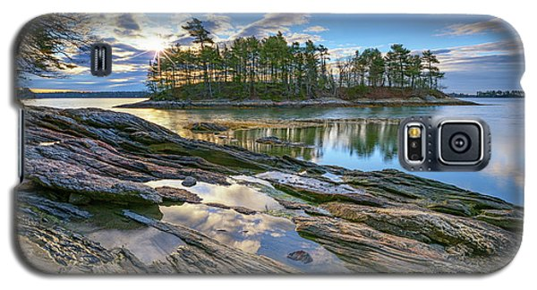 Spring Morning At Wolfe's Neck Woods Galaxy S5 Case by Rick Berk