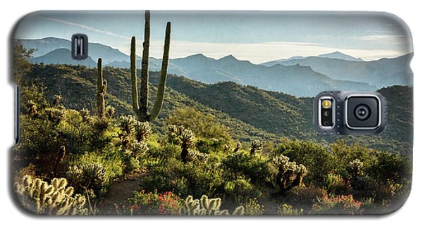 Galaxy S5 Case featuring the photograph Spring Morning In The Sonoran  by Saija Lehtonen