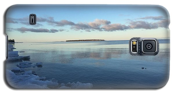 Galaxy S5 Case featuring the photograph Spring Morning On Lake Superior by Paula Brown