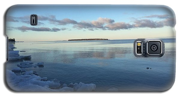 Spring Morning On Lake Superior Galaxy S5 Case by Paula Brown