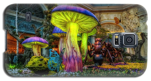 Spring Mushrooms Galaxy S5 Case