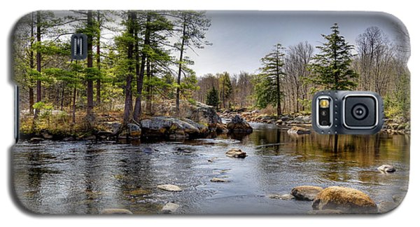 Galaxy S5 Case featuring the photograph Spring Near Moose River Road by David Patterson