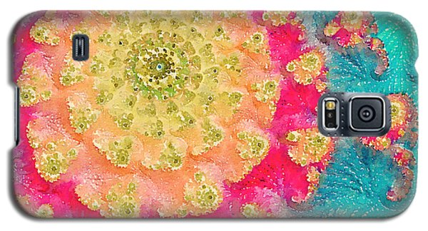 Galaxy S5 Case featuring the digital art Spring On Parade 2 by Bonnie Bruno