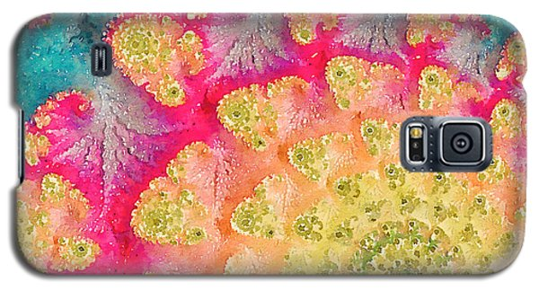 Galaxy S5 Case featuring the digital art Spring On Parade by Bonnie Bruno