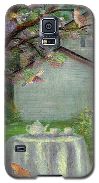 Spring Orchard Teatime Galaxy S5 Case