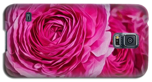 Spring Pink Roses Galaxy S5 Case