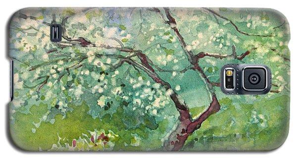 Spring Plum Galaxy S5 Case