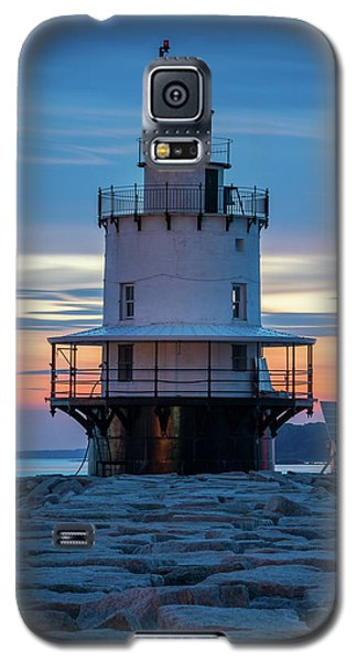 Spring Point Ledge Light Blue Hour II Galaxy S5 Case
