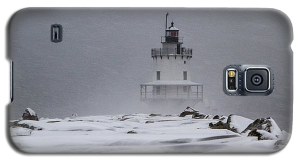 Spring Point Ledge Lighthouse Blizzard Galaxy S5 Case