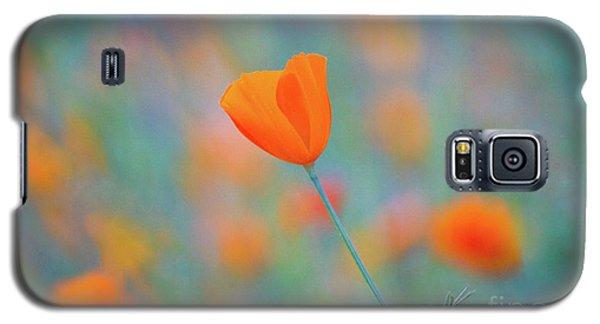 Spring Poppy Galaxy S5 Case