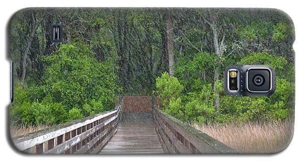 Galaxy S5 Case featuring the photograph Spring Rain by Carol  Bradley