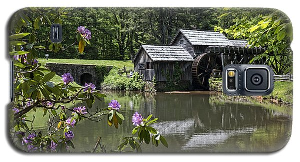 Spring Reflections Of An Ancient Mill Galaxy S5 Case