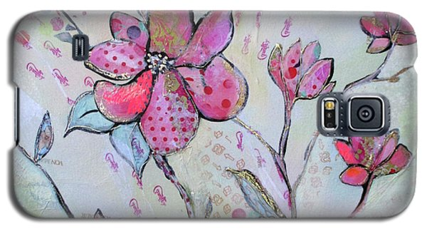 Magnolia Galaxy S5 Case - Spring Reverie IIi by Shadia Derbyshire