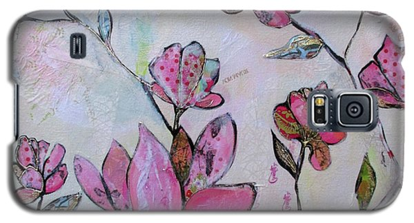 Magnolia Galaxy S5 Case - Spring Reverie Iv by Shadia Derbyshire
