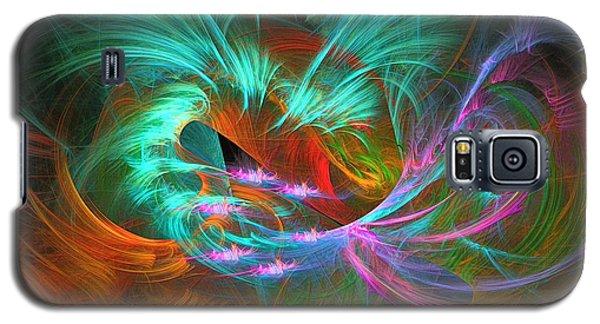 Spring Riot - Abstract Art Galaxy S5 Case