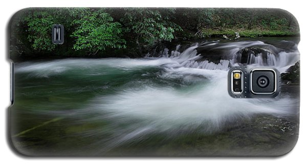 Galaxy S5 Case featuring the photograph Spring River by Mike Eingle