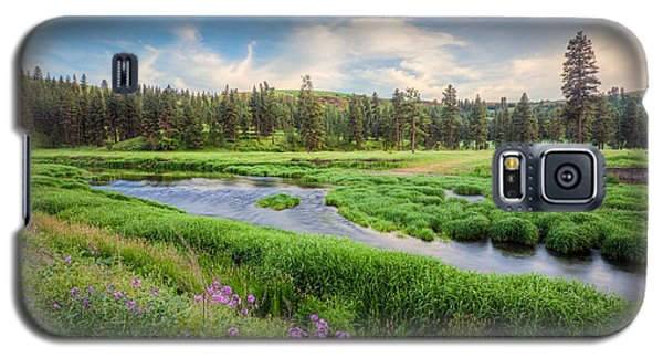 Galaxy S5 Case featuring the photograph Spring River Valley by Rikk Flohr