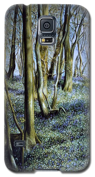 Galaxy S5 Case featuring the painting Spring by Rosemary Colyer