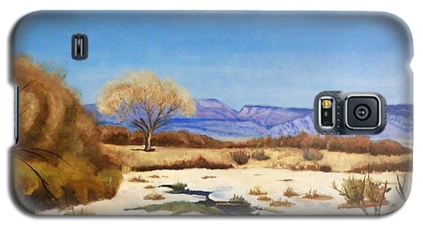 Galaxy S5 Case featuring the painting Spring Runoff by Sherril Porter
