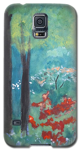 Galaxy S5 Case featuring the painting Spring by Sandy McIntire