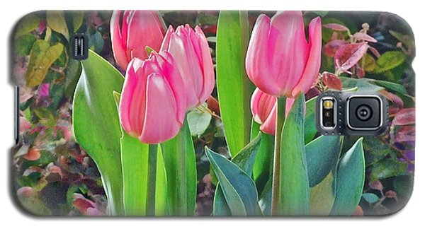 Spring Show 14 Pink Tulips  Galaxy S5 Case
