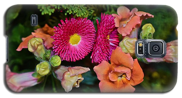 Spring Show 15 Snapdragons And English Daisy Galaxy S5 Case