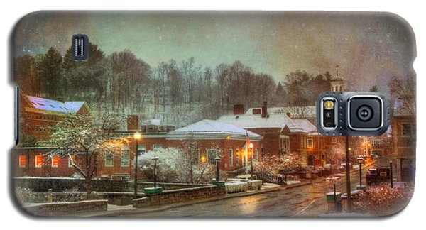 Spring Snow In Peterborough Nh Galaxy S5 Case