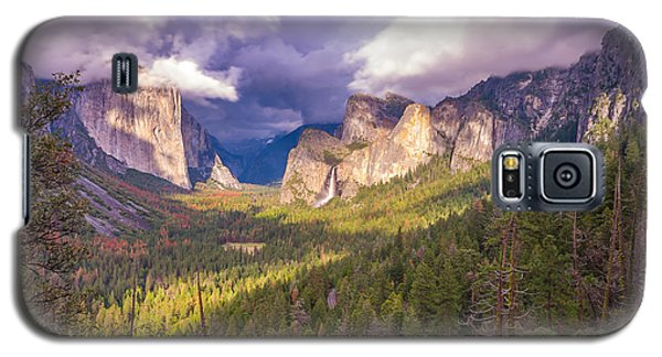 Galaxy S5 Case featuring the photograph Spring Storm In Yosemite Valley by Scott McGuire