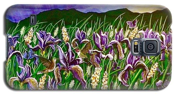 Spring Storm  Iris Fields Galaxy S5 Case