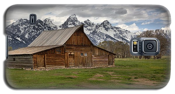 Spring Storms Over The Moulton Barn Galaxy S5 Case by Adam Jewell