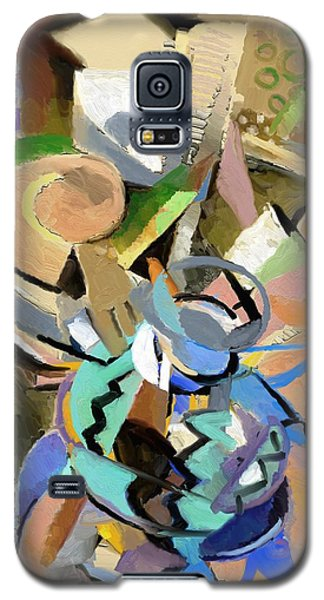 Galaxy S5 Case featuring the digital art Spring Studio II by Clyde Semler